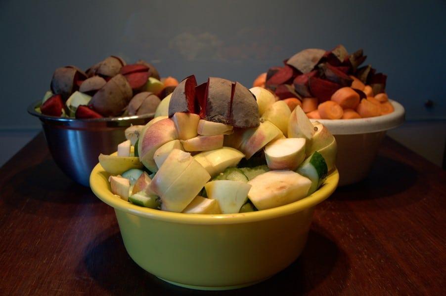 """barbet Making of """"BARF Vegetables & Fruits"""""""