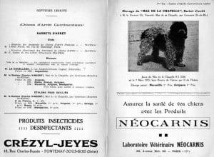 Wzmianka prasowa o Barbetach w przededniu II WŚ. Na zdjęciu JASON Mas De La Chapelle